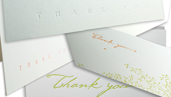 Wedding Thank You Notes Main Image