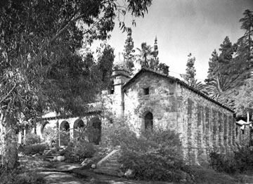 The Abbey San Encino, built by the famous letterpress printer Clyde Browne.