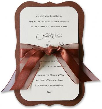 Amelie Wedding Invitations Click on thumbnails for additional views