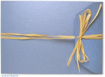 Azure Wedding Invitations