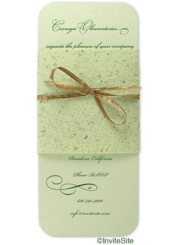 Eggnog Holiday Invitation