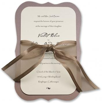 Lux Wedding Invitations Click on thumbnails for additional views