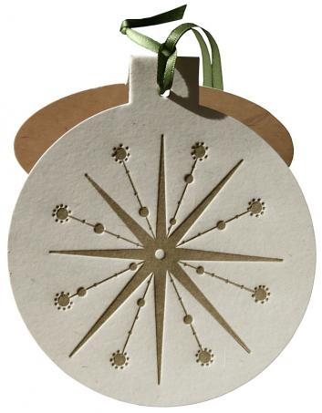 Husk Ornament Card