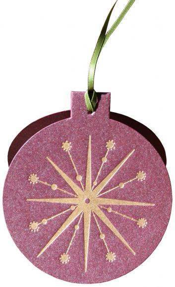 Wine Ornament Card