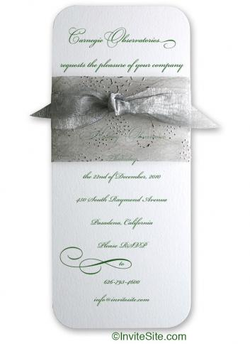 Rhapsody Holiday Invitation