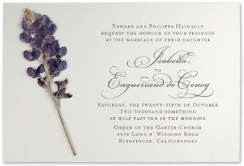 Offset printing invitation