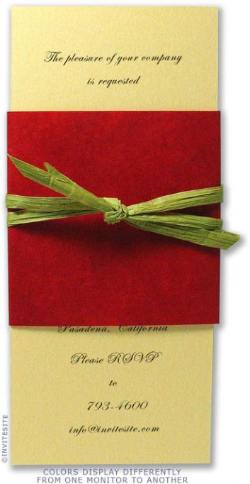 Thistle Holiday Invitation