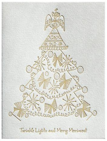 Twinkle Lights Holiday Card