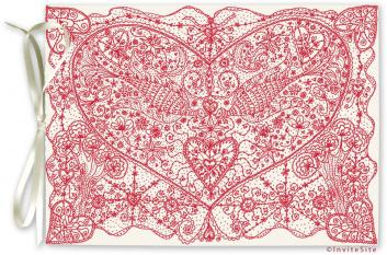 Vintage Love Wedding Invitations